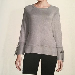 Isela - Gray Long Sleeve Pullover Sweater